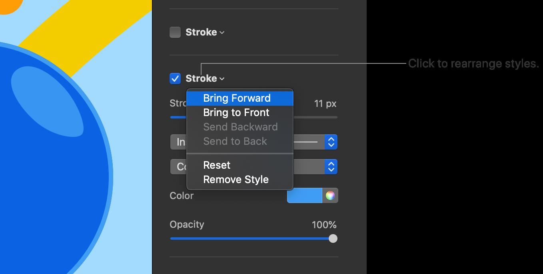 erase one layer in pixelmator pro